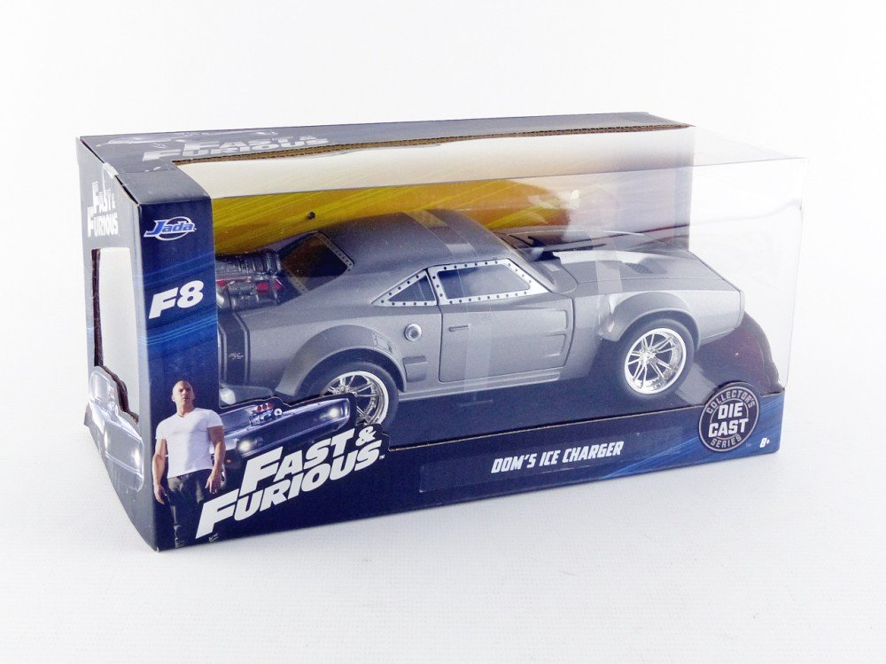 Dodge Ice Charger >> Jada Toys Fast Furious 8 Doms Ice Charger Diecast Collectible Toy Vehicle Car Silver