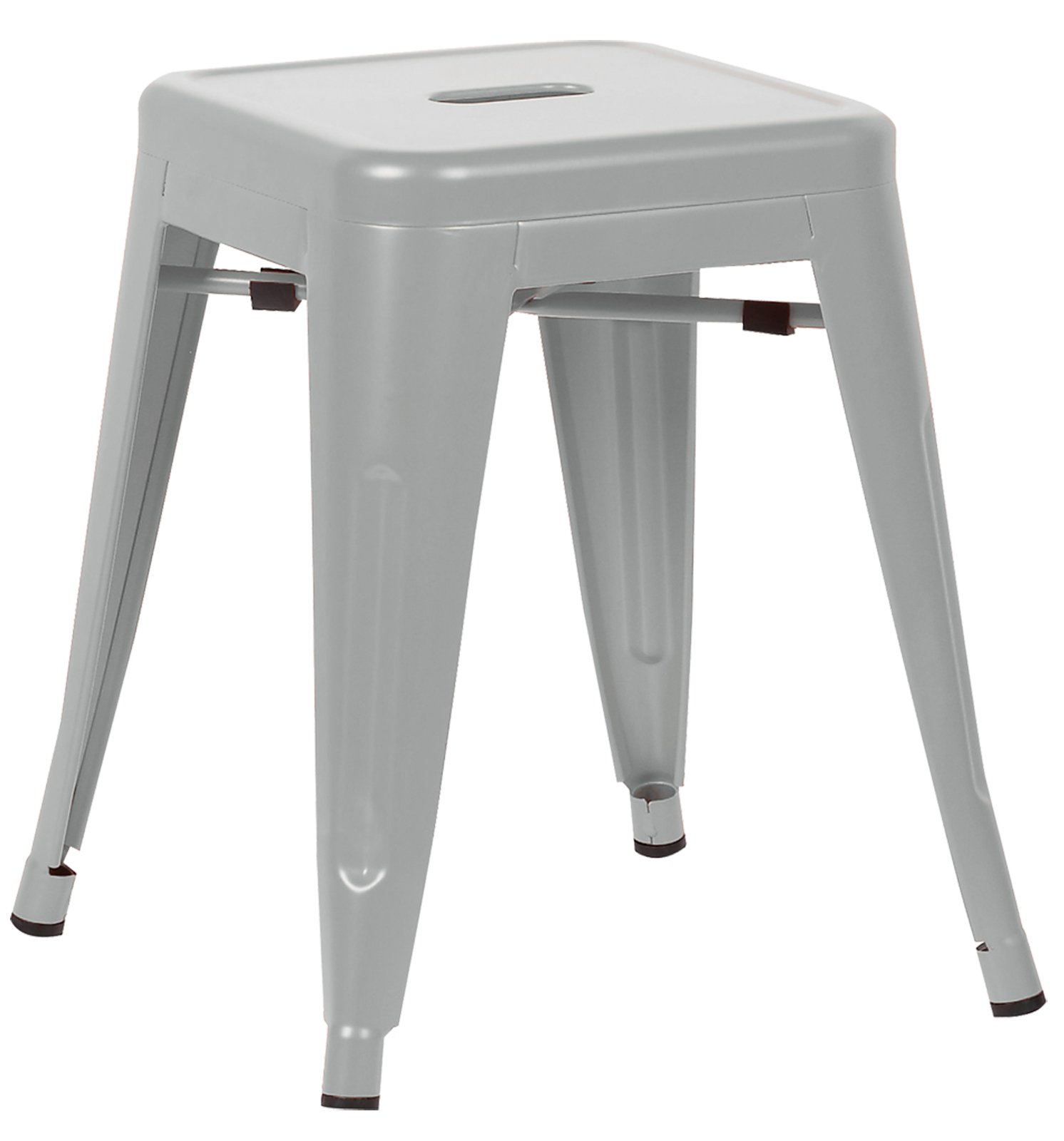 Poly and Bark Trattoria 18'' Stool in Grey