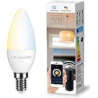 LE LampUX Bombilla WiFi E14, Bombilla Inteligente funciona