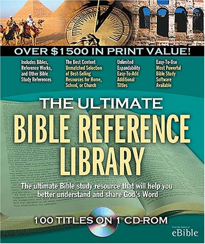 Ultimate Bible Reference Library product image