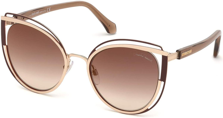 Sunglasses Roberto Cavalli RC 1095 Montieri 32T Gold//Gradient Bordeaux
