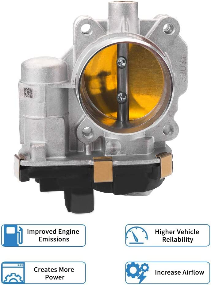 2007-2009 Chevrolet Equinox 12609500 Electronic Throttle Body Assembly Fits for 2009-2011 Buick Lucerne KINCARPRO OE 12577029 2006-2007 Buick Terraza