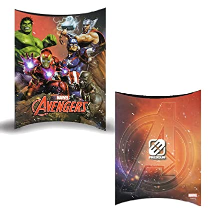 Cajas para regalo para fiestas y cumpleaños (Marvel Avengers ...