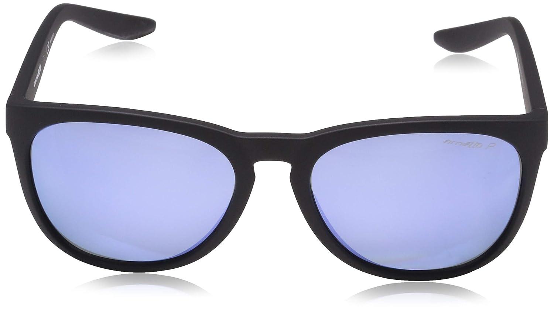 Arnette Go Time Polarized Round Sunglasses Matte Black 57.2 mm 0AN4227