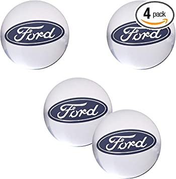 4pcs 56mm ST Wheel Center HubCap Sticker for Ford Focus