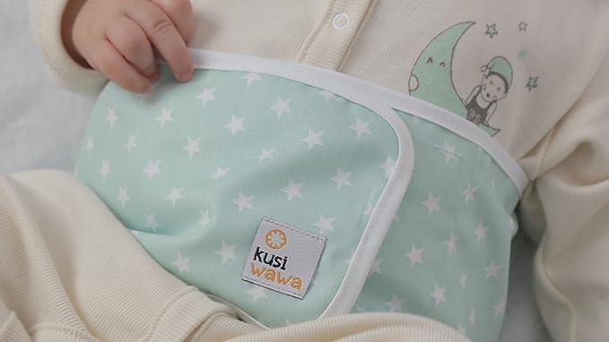 Kusi Wawa. Banda anticólicos mint: Amazon.es: Bebé