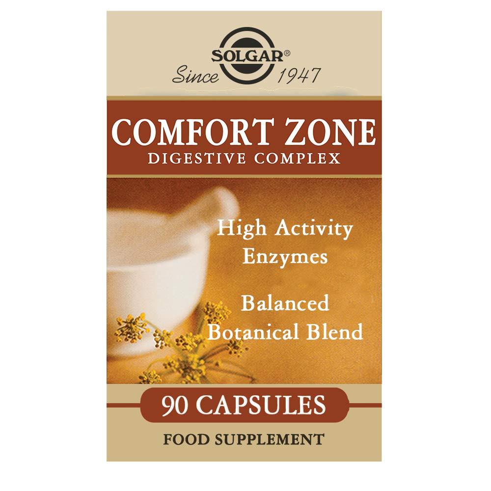 Solgar Comfort Zone Digestive Complex Cápsulas vegetales - Envase de 90: Amazon.es: Salud y cuidado personal