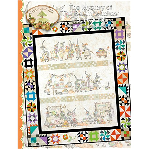 The Mystery of the Salem Witches' Quilt Guild Quilt Assembly Pattern by Meg Hawkey From Crabapple Hill Studio #348