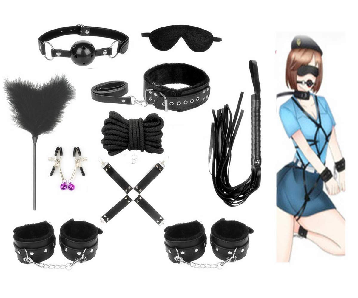 Midnight Party Gift, Black Leather Accessories