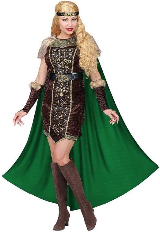 WIDMANN Disfraz de Vikinga Hilda para Mujer XL: Amazon.es ...