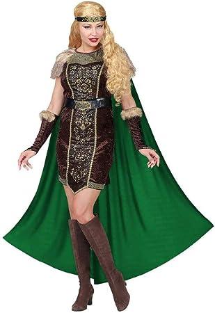WIDMANN Disfraz de Vikinga Hilda para Mujer XS: Amazon.es ...