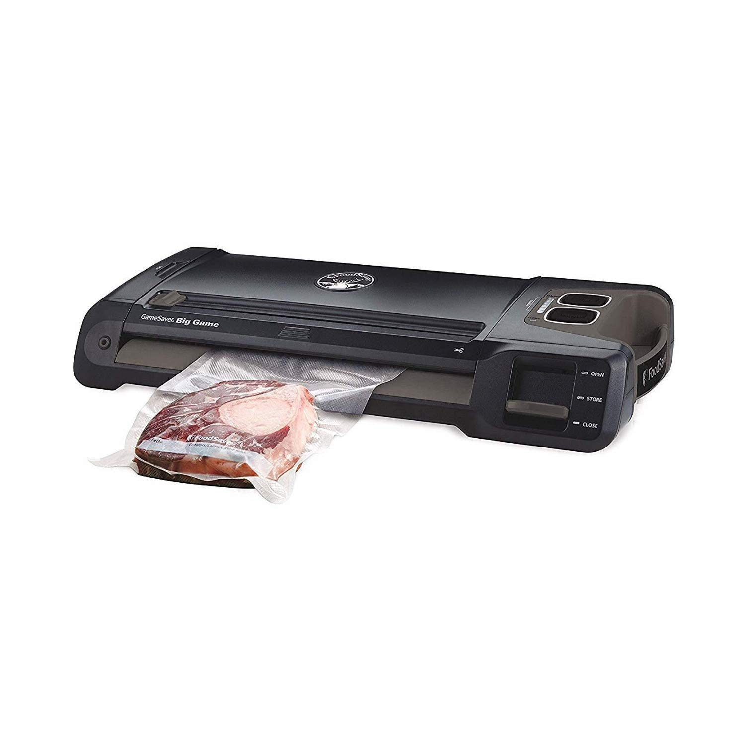 FoodSaver Vacuum Sealer GM710-000 GameSaver Big Game Sealing System, reg, Black by FoodSaver