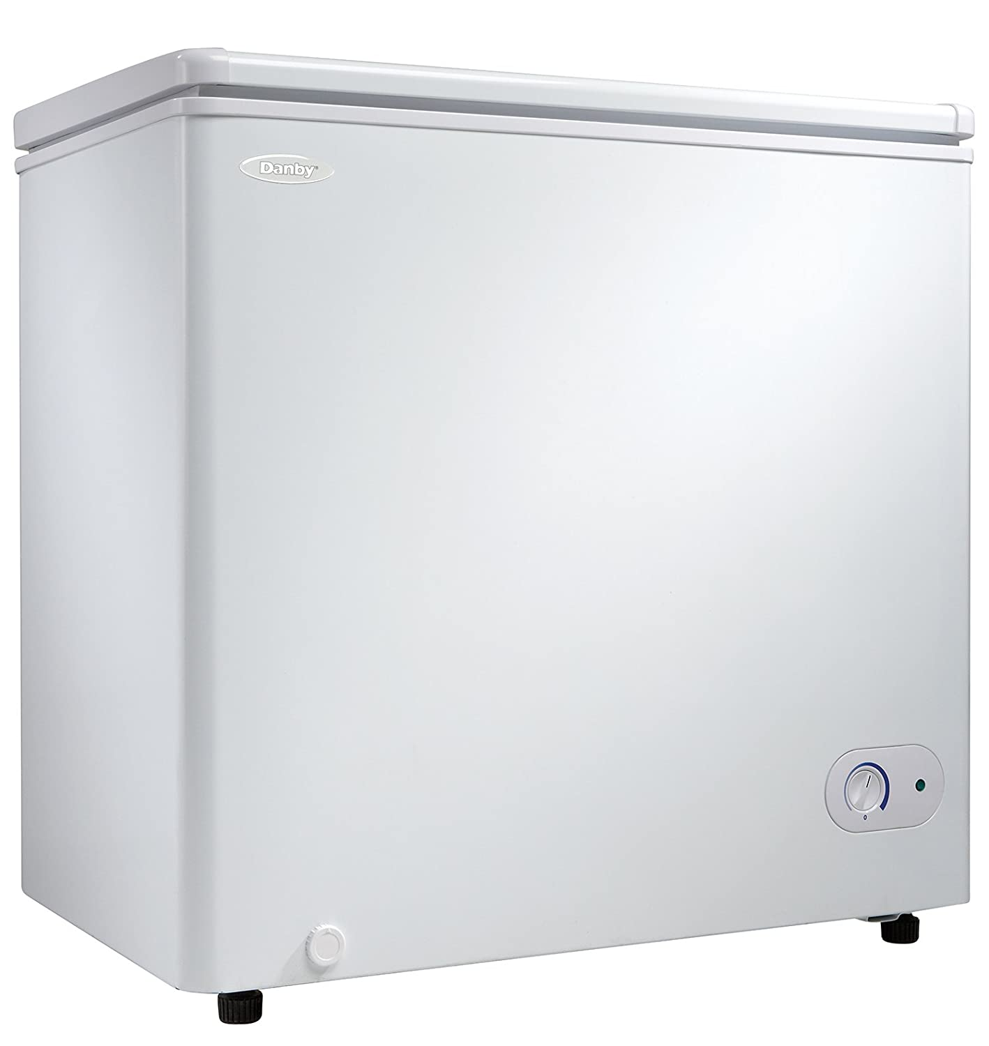 amazoncom danby chest freezer 55 cubic feet white appliances - Chest Freezers On Sale