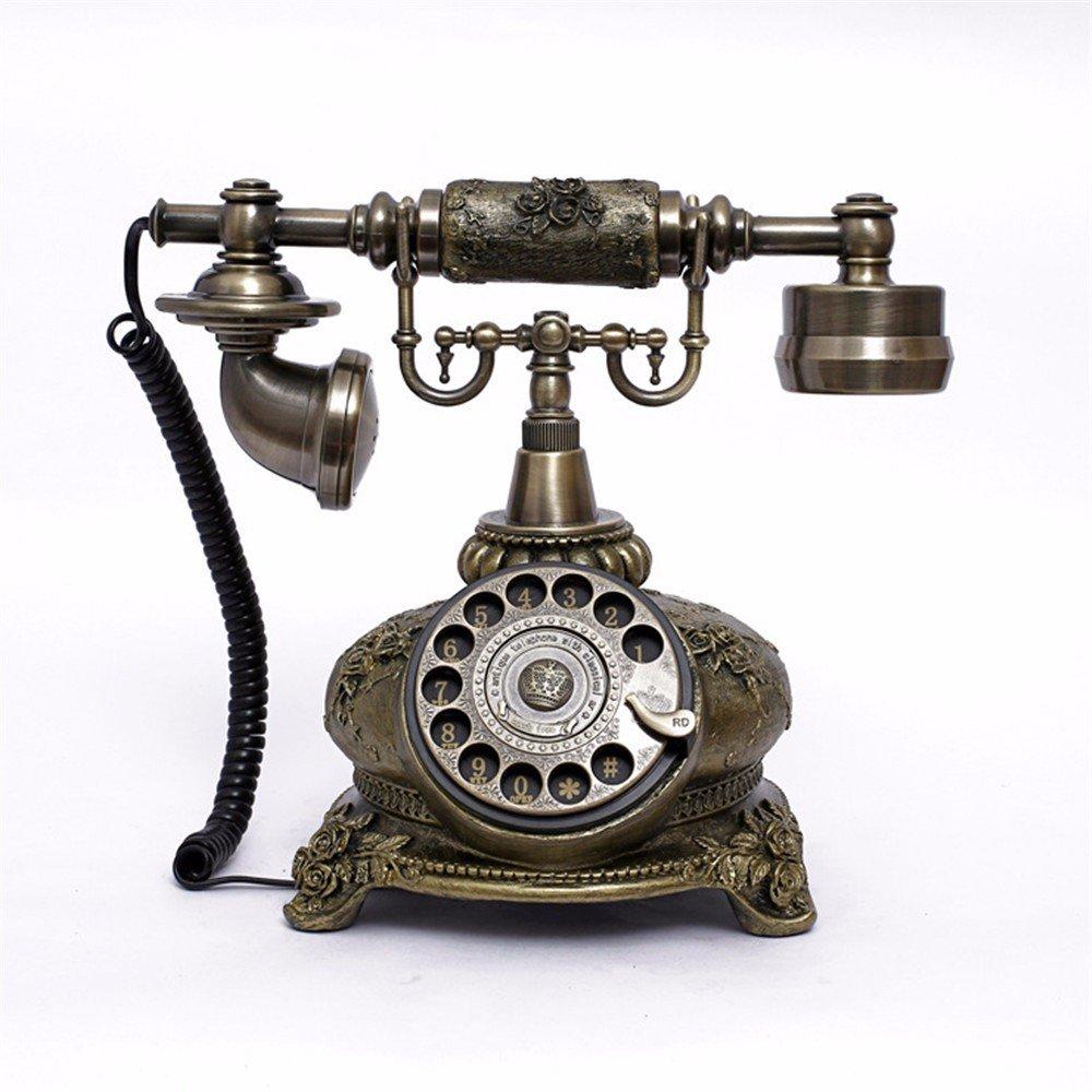 Vintage Retro Teléfono Un idílico Antique Teléfono / tocadiscos ...