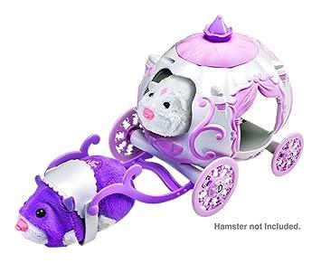 Zhu Zhu Princess Pets Hamsters Royal Unicorn Carriage ZhuZhu Powered Brand New