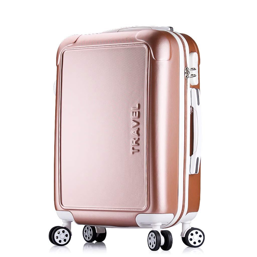 トラベルスーツケース、ユニバーサルホイール荷物、女性トロリーケース、女性ボックス、シャーシ、パスワードボックス、荷物 (色 : A, サイズ さいず : 22inch) B07HCWYW6H 22inch A A 22inch