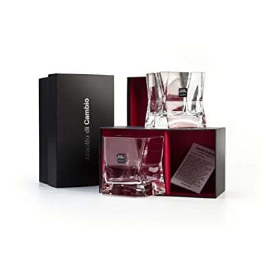 Cibi Single Blade Runner Glass (Twin Pack) 22cl