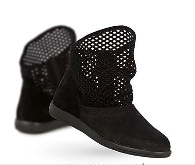 Emu Australia NUMERALLA W11071 - Damen Schuhe Stiefel Boots - mushroomnaturale, Größe:42 EU