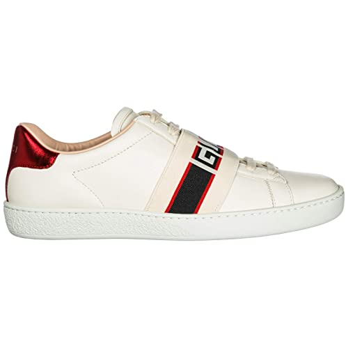 Gucci Ace Zapatillas Deportivas Mujer Bianco 38 EU  Amazon.es  Zapatos y  complementos 5e9063e1f79