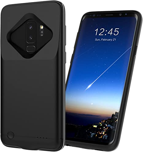 Samsung Galaxy S9 Plus Akku Hülle, FindaGift 5200mAh: Amazon