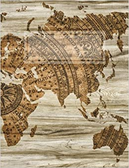 Vintage world map compass 8 stave blank sheet music turn on 1 click ordering for this browser gumiabroncs Choice Image