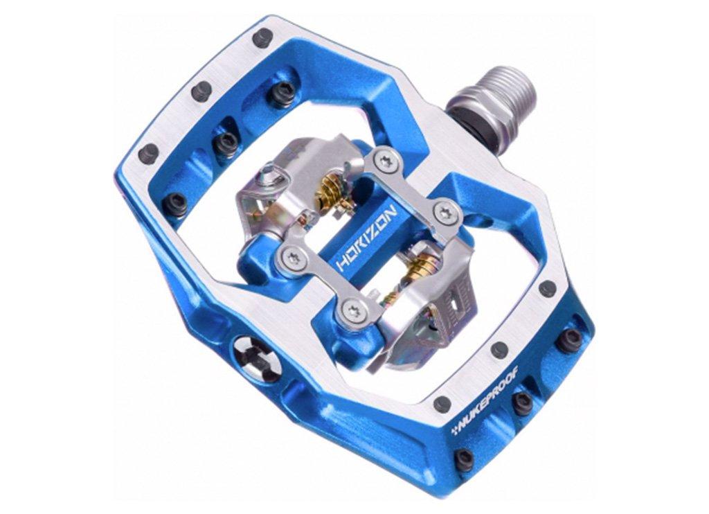 【 NUKEPROOF Clipless Pedal ホライゾン CL ペダル@17064 】 ヌークプルーフ バイク 自転車 サイクル B07C1NRDL7 BLUE BLUE