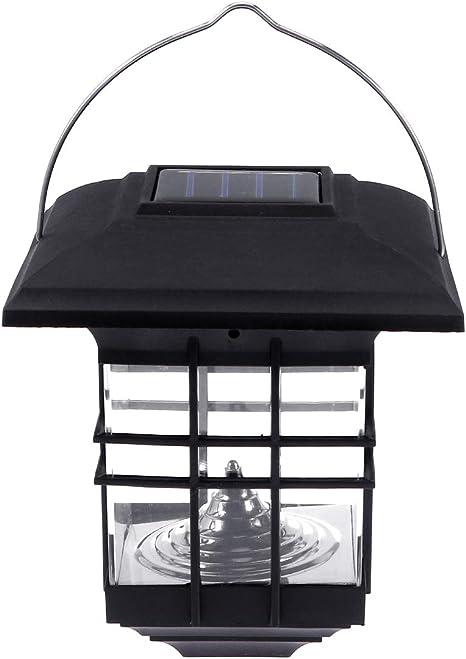 Mobestech Linternas solares Lámpara colgante decorativa para ...