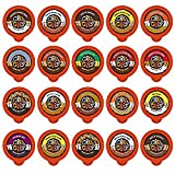 jelly chocolate dream - Crazy Cups Flavored Coffee Single Serve Cups for Keurig Brewer Variety Pack Sampler, 20 Count