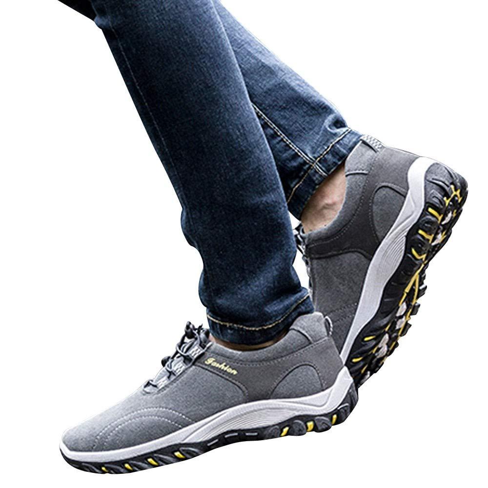 Zapatillas de Running para Hombre,BBestseller Zapatillas para Hombre Zapatillas de Senderismo para Hombre al Aire Libre Fitness Casual Sneakers Invierno
