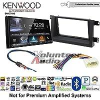 Volunteer Audio Kenwood DMX7704S Double Din Radio Install Kit with Apple CarPlay Android Auto Bluetooth Fits 2006-2008 Honda Ridgeline