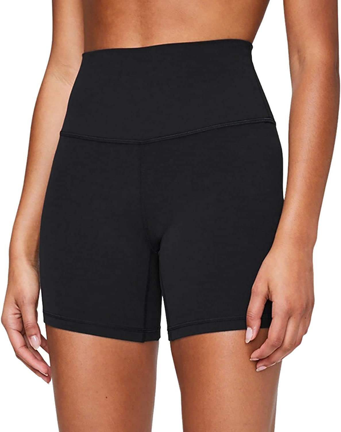 yeuG Workout Shorts for Women with Pockets Biker Shorts for Women High Waisted Yoga Shorts Athletic Running Shorts