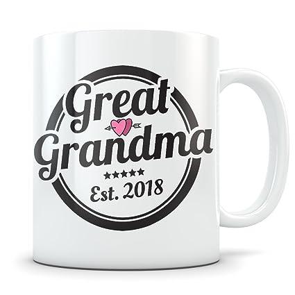 amazon com great grandma mug best coffee gift idea for new or