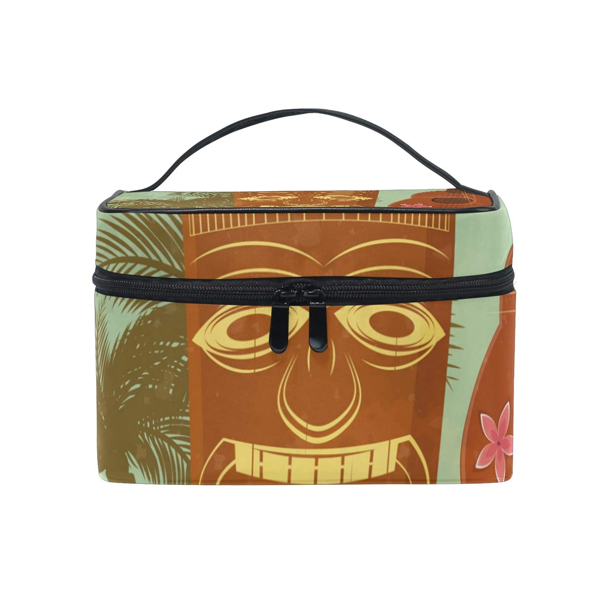 Vintage Hawaiian Zipper Pouch Purse Pouch