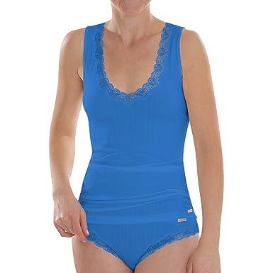 07114ea0428d00 Comazo Earth Damen Unterhemd mit Achselträger Bio-Baumwolle/Elasthan:  Amazon.de: Bekleidung