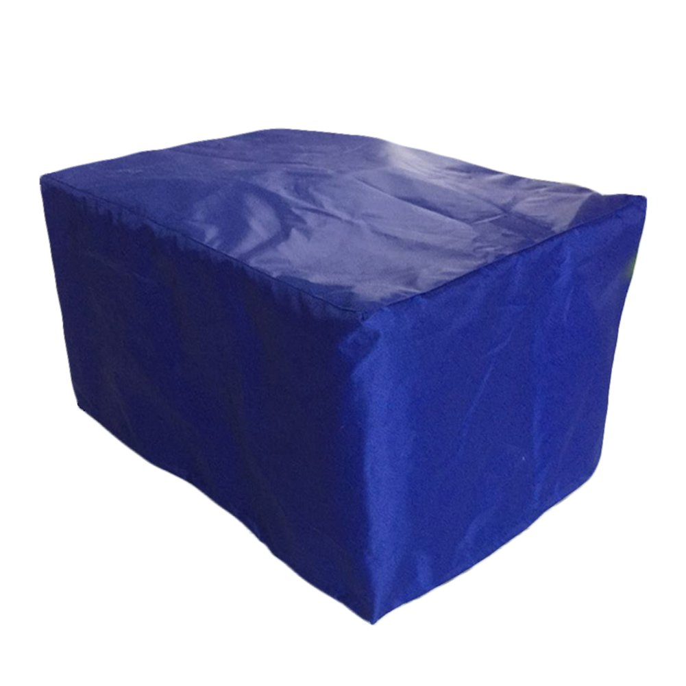 INLAR Patio Bench Cover Outdoor Garden Furniture Covers 3000D Oxford Waterproof Breathable Table Chair Cover 123x123x74cm (123x123x74cm,Blue)