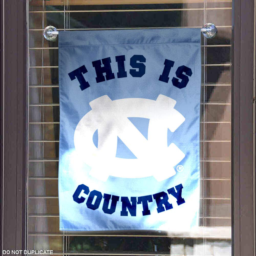 College Flags and Banners Co North Carolina Tar Heels This is UNC Country Garden Flag