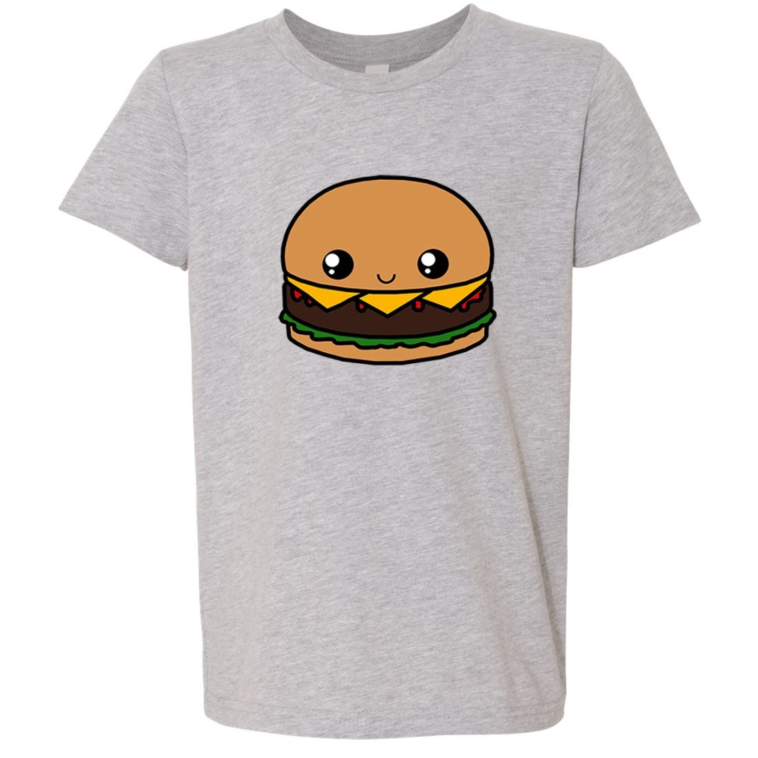 Kawaii Burger Asst Colors Youth T-Shirt//tee