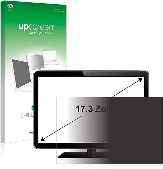 upscreen Filtro de Privacidad 17.3 Pulgadas para Caja Registradora (43.9 cm) (383 x 215 mm, 16:9) Protector Pantalla Anti-Espia Privacy Filter: Amazon.es: Electrónica