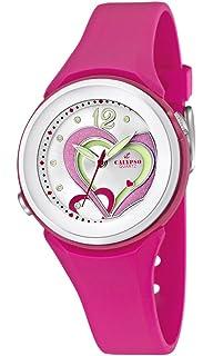 Calypso watches K5576/5 - Reloj analógico de cuarzo para niña, correa de goma