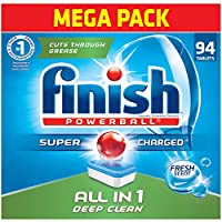Deals on Finish All in 1-94ct Dishwasher Detergent
