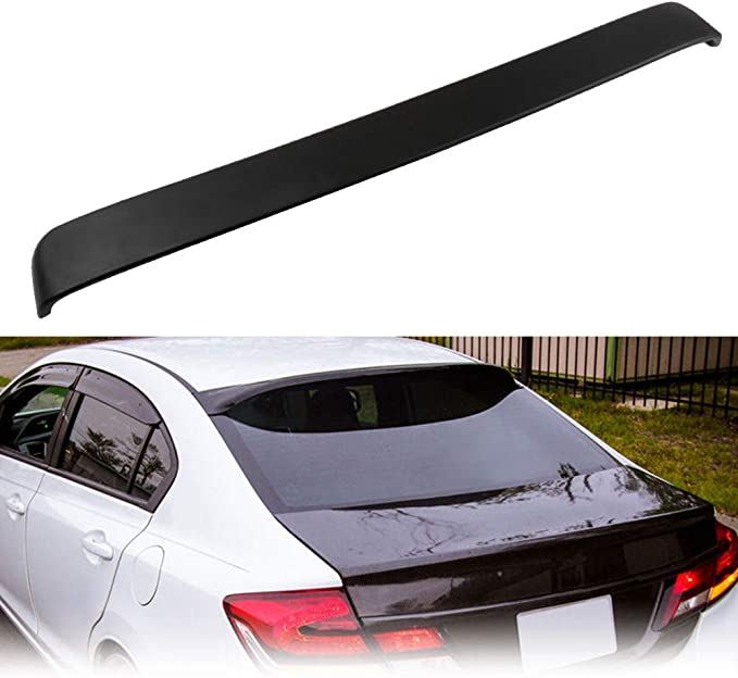 2015 Honda Civic Sedan 1.8L Touring ANDLEWIDE Auto Accessories Body Parts ABS Rear Window Roof Spoiler Wing for Car fits