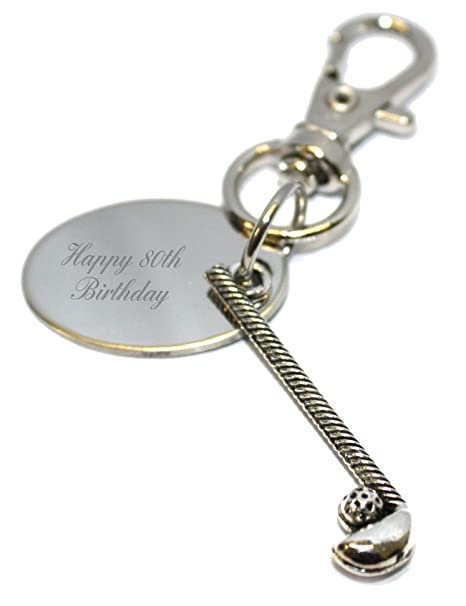 personalised metal anchor keyring gift pouch BR656 Engraved