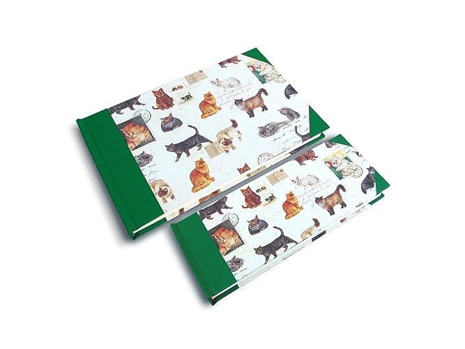 Libretas con gatos. Cuadernos para regalo. Cuadernos para bullet Jornal.