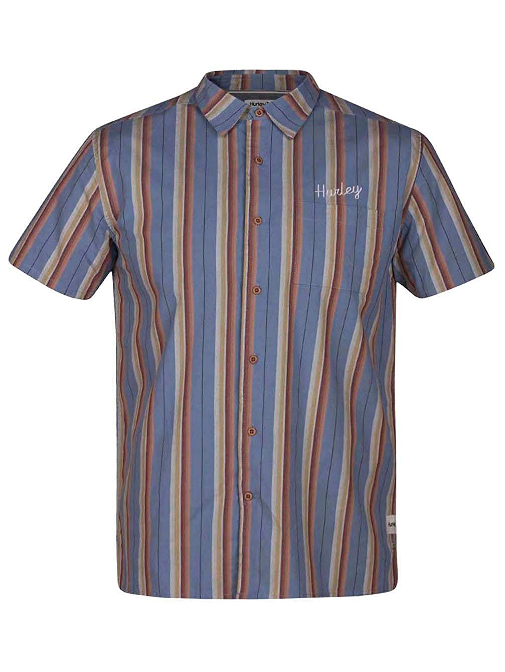 Hurley Mens AJ1856 Cape Town Short Sleeve Shirt
