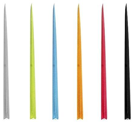 Compra Cóctel Sticks Brochetas Picker 100 Unidades de Colores ...