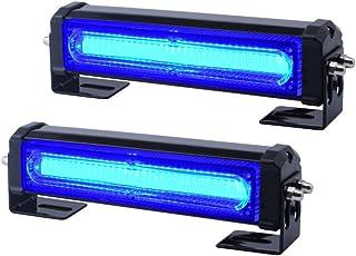 Emergency Grille Light Head Bright Linear LED Mini Strobe Lightbar Surface Mount for Law Enforcement Vehicles Regard