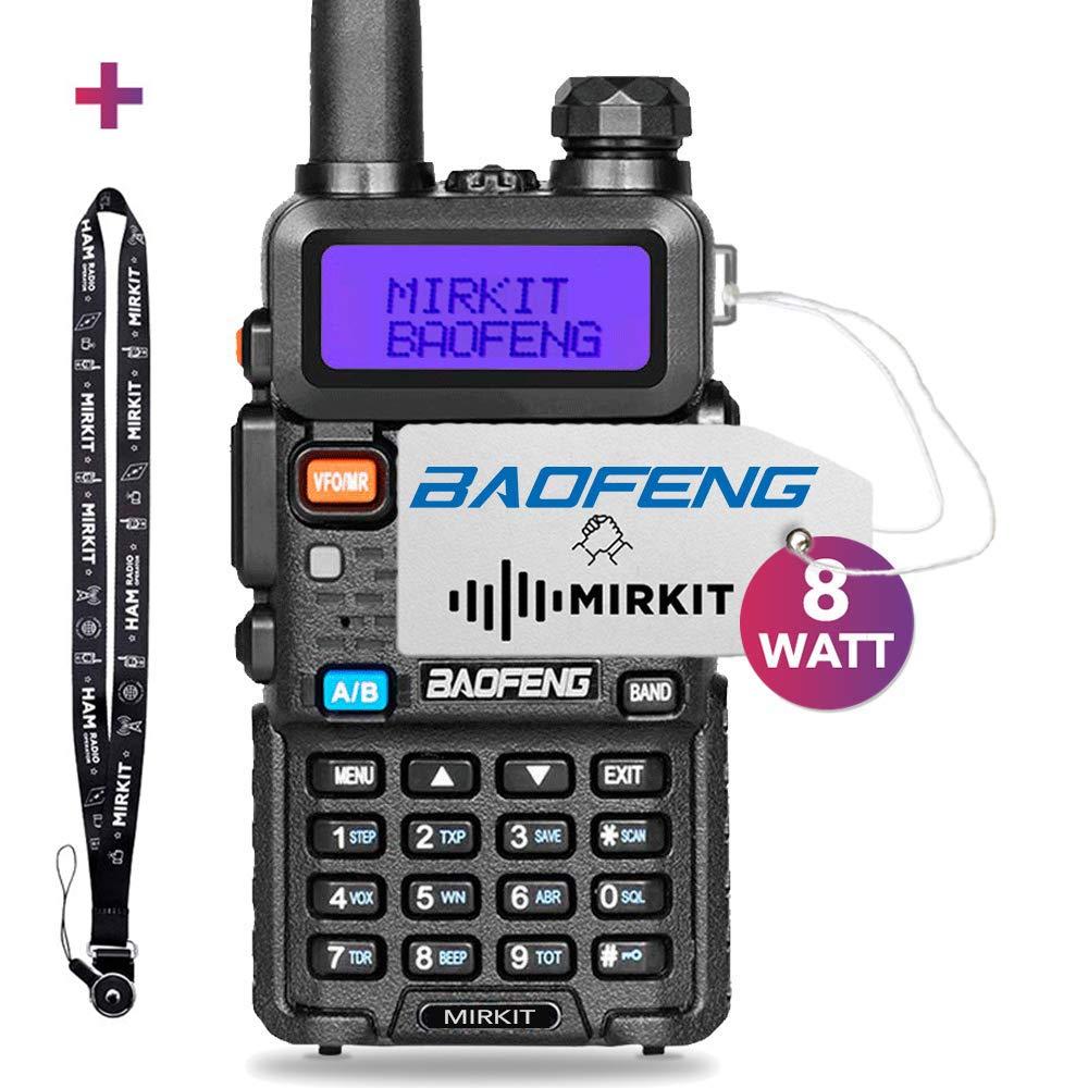 Mirkit Radio Baofeng UV-5R MK4 8W MP Max Power 2019 1800 mAh Li-Ion Battery Pack, BaofengRadio corp. by Mirkit