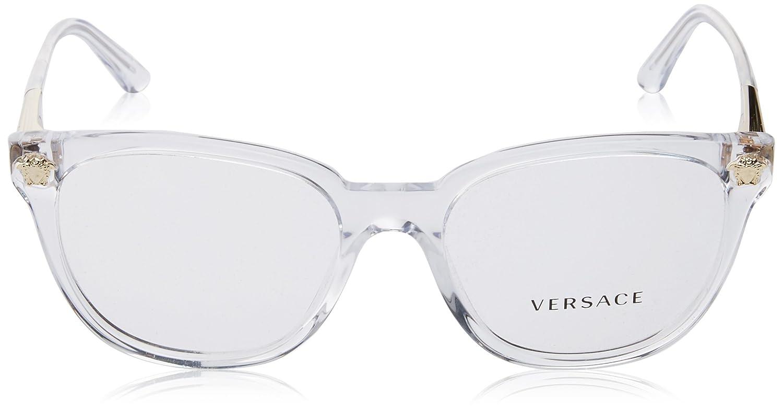 Amazon.com: anteojos Versace VE 3242 A 148 Trasparent: Clothing
