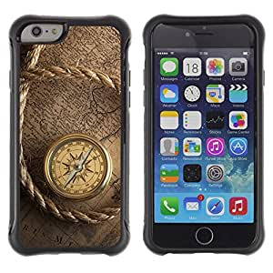 BullDog Case@ Captain Ship Navigation Compass Vintage Rugged Hybrid Armor Slim Protection Case Cover Shell For iPhone 6 Plus CASE Cover ,iphone 6 5.5 case,iPhone 6 Plus cover ,Cases for iPhone 6 Plus 5.5