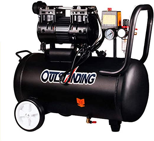 compresor de Aire Inflable sin Aceite Pintura en Aerosol pequeña Bomba de Aire 800w-40L: Amazon.es: Hogar